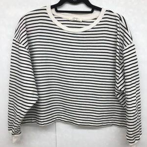 Zara Crop Sweatshirt